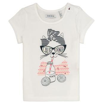 Odjeća Djevojčica Majice kratkih rukava Ikks MEOLIA Bijela