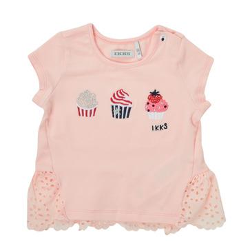 Odjeća Djevojčica Majice kratkih rukava Ikks DANIA Ružičasta
