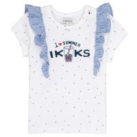 Odjeća Djevojčica Majice kratkih rukava Ikks HILONA Bijela