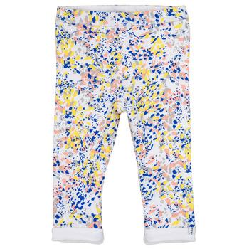 Odjeća Djevojčica Tajice Ikks ELIES Bijela / Multicolour