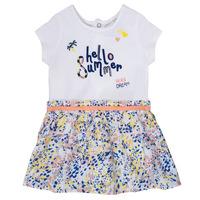 Odjeća Djevojčica Kratke haljine Ikks NIKLO Bijela