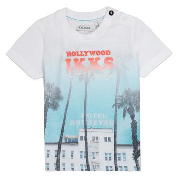Odjeća Dječak  Majice kratkih rukava Ikks JOSIANE Bijela