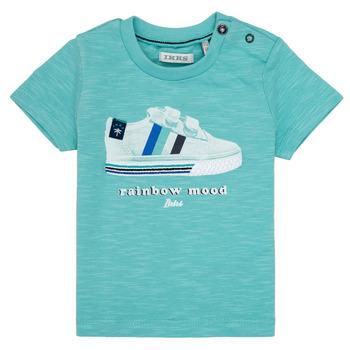 Odjeća Dječak  Majice kratkih rukava Ikks MARIA Tirkizna