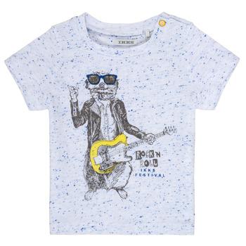 Odjeća Dječak  Majice kratkih rukava Ikks MARIO Bijela