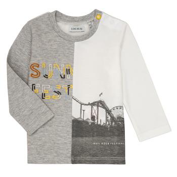 Odjeća Dječak  Majice dugih rukava Ikks MAELINO Siva