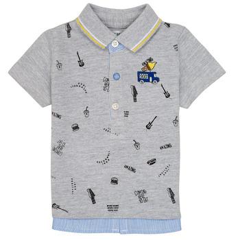 Odjeća Dječak  Polo majice kratkih rukava Ikks MAELYS Siva