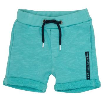 Odjeća Dječak  Bermude i kratke hlače Ikks POLEMAN Tirkizna