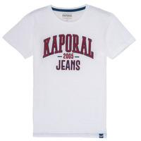Odjeća Dječak  Majice kratkih rukava Kaporal ERNIE Bijela