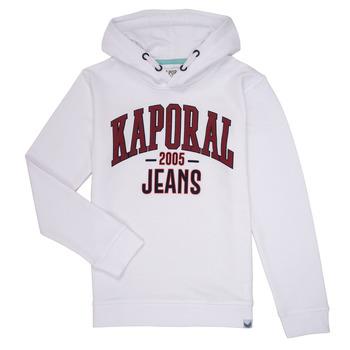 Odjeća Dječak  Sportske majice Kaporal EDER Bijela