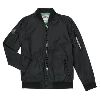 Odjeća Dječak  Kratke jakne Kaporal ELMO Crna