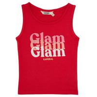 Odjeća Djevojčica Majice s naramenicama i majice bez rukava Kaporal JUIN Red