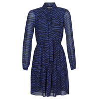 Odjeća Žene  Kratke haljine MICHAEL Michael Kors BOLD BENGAL TIER DRS Blue / Crna