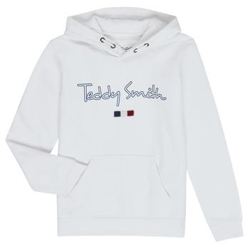 Odjeća Dječak  Sportske majice Teddy Smith SEVEN Bijela