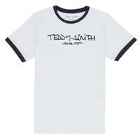 Odjeća Dječak  Majice kratkih rukava Teddy Smith TICLASS 3 Bijela