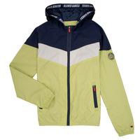 Odjeća Dječak  Kratke jakne Teddy Smith SNIL Bijela / Zelena