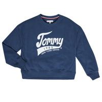 Odjeća Djevojčica Sportske majice Tommy Hilfiger KG0KG04955 Blue