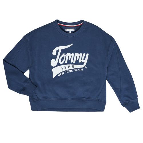 Odjeća Djevojčica Sportske majice Tommy Hilfiger  Blue