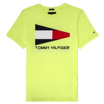 Odjeća Dječak  Majice kratkih rukava Tommy Hilfiger KB0KB05628 Žuta