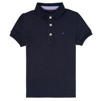 Odjeća Dječak  Polo majice kratkih rukava Tommy Hilfiger KB0KB03975 Blue