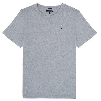 Odjeća Dječak  Majice kratkih rukava Tommy Hilfiger  Siva