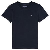 Odjeća Dječak  Majice kratkih rukava Tommy Hilfiger KB0KB04140 Blue