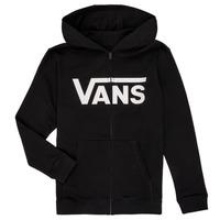 Odjeća Dječak  Sportske majice Vans BY VANS CLASSIC ZIP HOODIE Crna