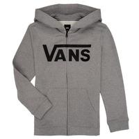 Odjeća Dječak  Sportske majice Vans BY VANS CLASSIC ZIP HOODIE Siva