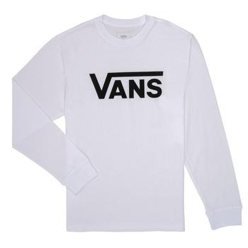 Odjeća Dječak  Majice dugih rukava Vans BY VANS CLASSIC LS Bijela