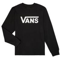 Odjeća Dječak  Majice dugih rukava Vans BY VANS CLASSIC LS Crna