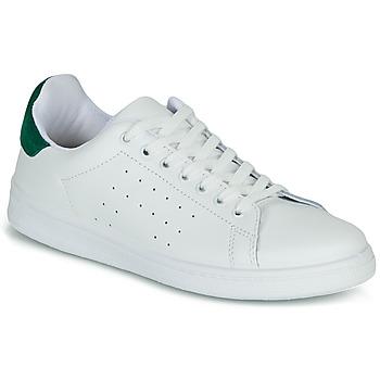 Obuća Žene  Niske tenisice Yurban SATURNA Bijela / Zelena