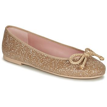 Obuća Žene  Balerinke i Mary Jane cipele Pretty Ballerinas BELLE SAND Gold