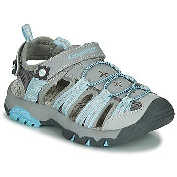 Obuća Djevojčica Sportske sandale Kangaroos KT-SONATA Siva