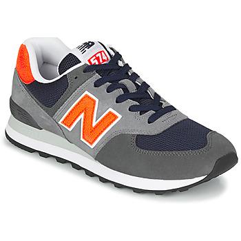 Obuća Muškarci  Niske tenisice New Balance 574 Siva / Narančasta