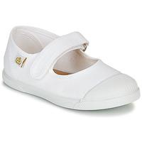 Obuća Djeca Balerinke i Mary Jane cipele Citrouille et Compagnie APSUT Bijela