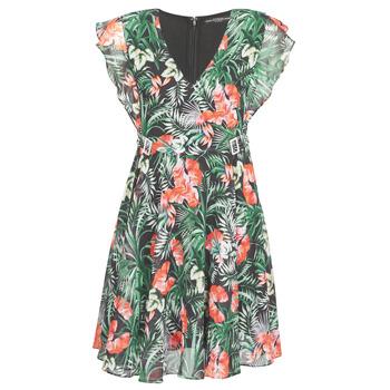 Odjeća Žene  Kratke haljine Guess EULALIA DRESS Crna / Zelena