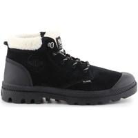 Obuća Žene  Čizme za snijeg Palladium Manufacture Pampa LO WT Crna