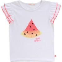 Odjeća Djevojčica Majice kratkih rukava Billieblush / Billybandit NARI Bijela