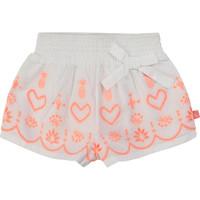 Odjeća Djevojčica Bermude i kratke hlače Billieblush / Billybandit NEYO Bijela