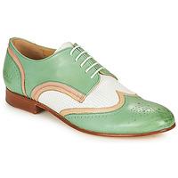 Obuća Žene  Derby cipele Melvin & Hamilton SALLY 15 Zelena / Bijela / Bež