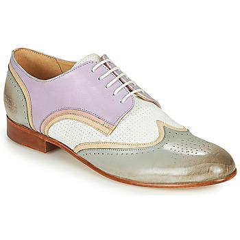Obuća Žene  Derby cipele Melvin & Hamilton SALLY 15 Blue / Bijela / Bež
