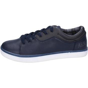 Obuća Muškarci  Niske tenisice Armata Di Mare sneakers pelle sintetica Blu