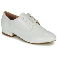 Obuća Žene  Derby cipele André ERNESTINE Bijela