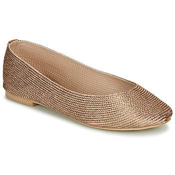 Obuća Žene  Balerinke i Mary Jane cipele André PAPAYA Gold