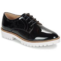 Obuća Žene  Derby cipele André EDDYTH Crna / Lak