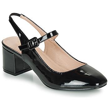Obuća Žene  Balerinke i Mary Jane cipele André JONNA Crna / Lak