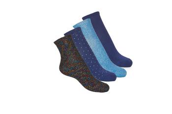 Tekstilni dodaci Žene  Čarape André SHINE Blue
