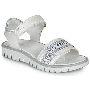 Obuća Djevojčica Sandale i polusandale Primigi 5386700 Bijela / Srebrna