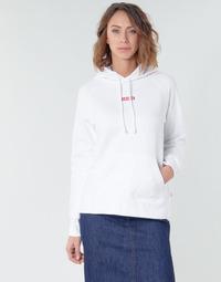 Odjeća Žene  Sportske majice Levi's RAPHIC SPORT HOODIE BABY TAB HOODIE Bijela