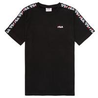 Odjeća Djeca Majice kratkih rukava Fila FREDDY Crna