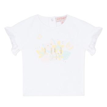 Odjeća Djevojčica Majice kratkih rukava Lili Gaufrette NALIS Bijela